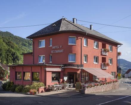 Hotel Au Bois Le Sire in Orbey in Frankrijk