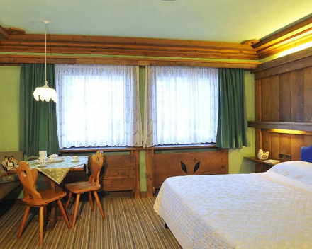 Hotel Belvedere Falcade Kamer