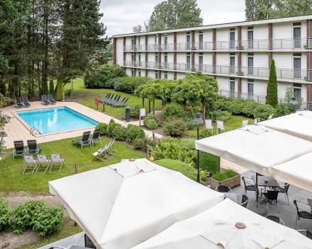 Hotel Greenpark Brugge Zwembad