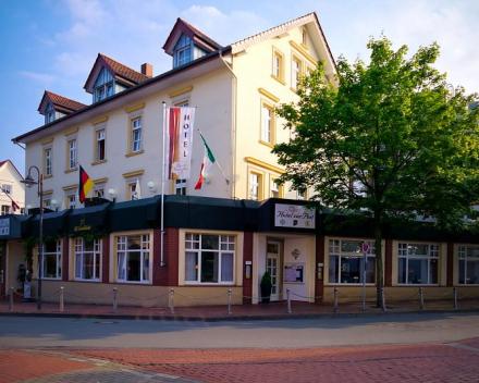 Hotel Zur Post in Bad Rothenfelde in Duitsland