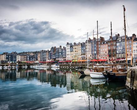 Motorreis Normandie in Frankrijk