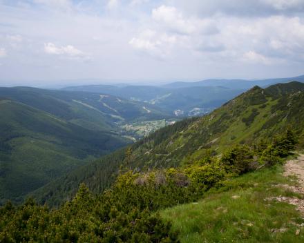 Motorreizen Tsjechie Bergen