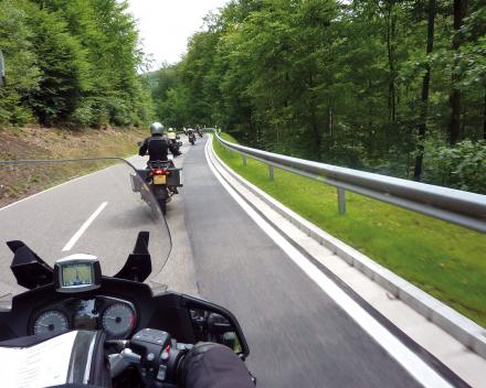 Motorreizen Zwarte Woud