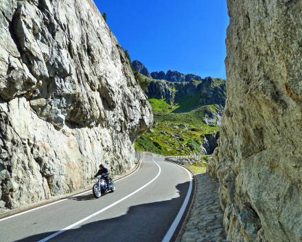 Motorreizen Zwitserland
