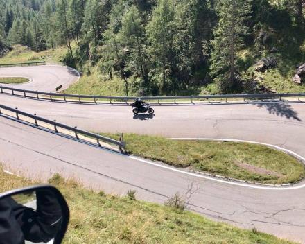 Motorrijden Dolomieten Italië