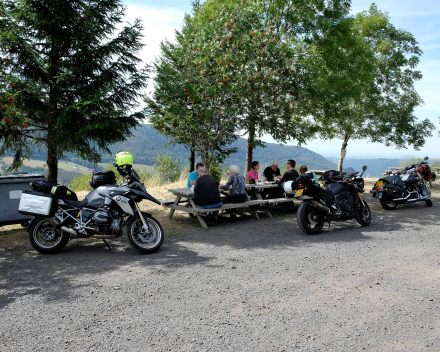 Motorrijden in de Auvergne