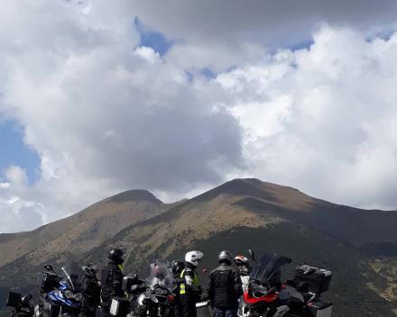Motorrijden in de omgeving van Andorra