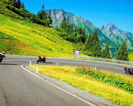 Motorrijden in Zwitserland