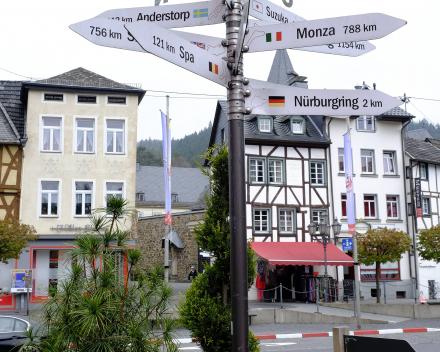 Motorroutes Moezel GPS
