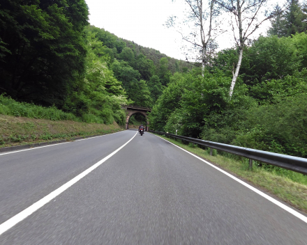 Motortour in Duitsland