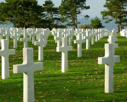 Normandie Oorlogsgraven