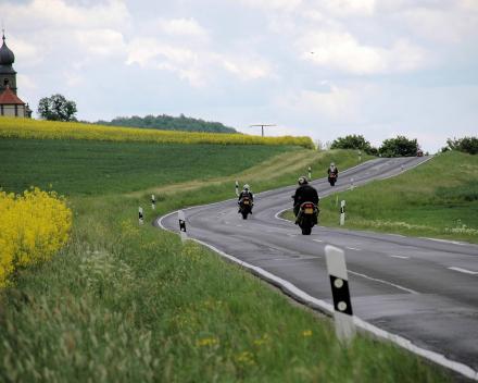 Rhon Thuringen Motoroutes GPS