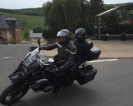 Weekendje Eifel met de motor