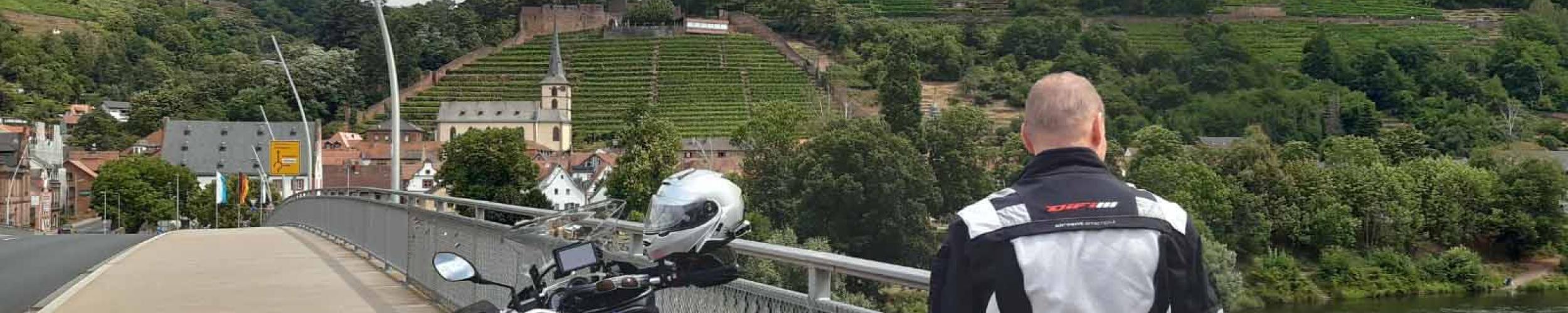 Bochtenparadijs Odenwald   Motorreizen Duitsland