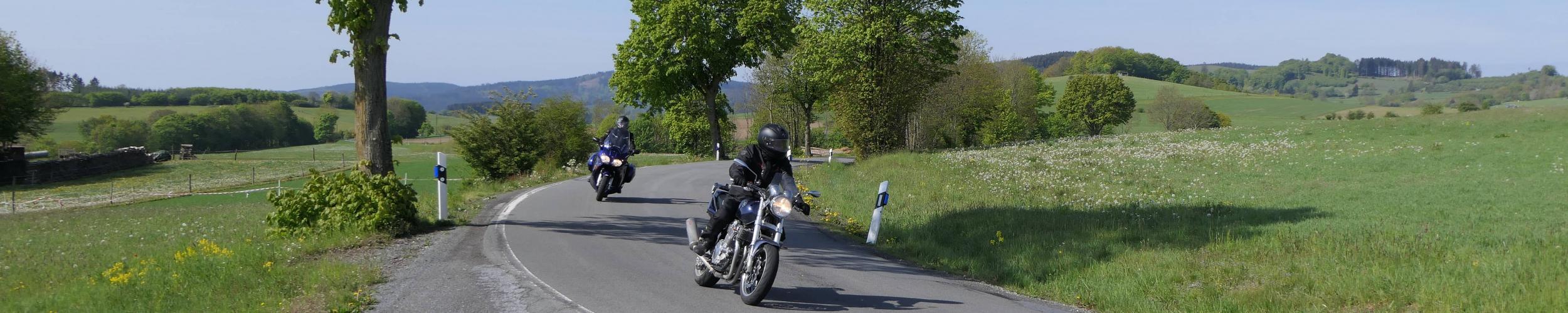 Motorreis Mittelgebirge Rhön - Thüringen | Motorreizen Duitsland